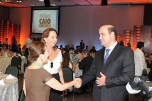 Adelina Silveira Alcântara Machado, Chieko Aoki e Antonio Dias