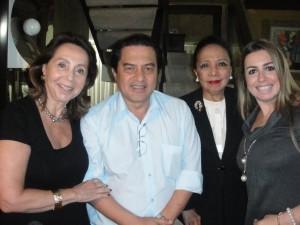 A grande dama da sociedade de São Paulo, Ilde Maksoud, comemorou seu aniversário com um jantar petit comité