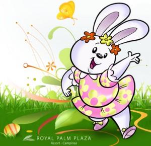 A coelhinha Fofa Flor, da turminha Miniville