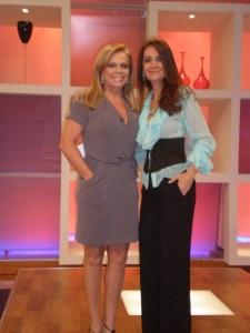 Christina Rocha e Cláudia Métne