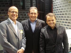 Alexis Pagliarini, Beetto Saad e Roberto Borja