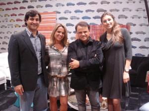 Bruno Bomeny, Thallita Cardoso, Roberto Borja e Ana Cláudia Viegas