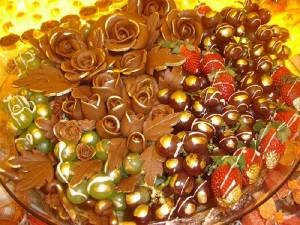 O Buffet também oferece grande variedade de doces