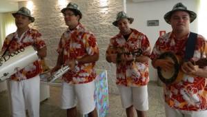 O grupo Quarteto do Samba
