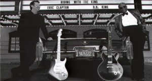 """A amizade de Eric e B.B. King resultou no álbum """"Riding with the King"""", de 2000"""