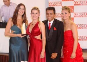 Mônica Moreira Lima, Fabiana Chaves, William Santos e Isadora Lima