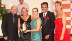 Ribamar Pires, Madalena Nobre, Guga Fernandes, William Santos e Isadora Lima