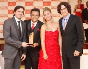 Rodrigo Lauande, William Santos, Isadora Lima e Alexandre Maluf