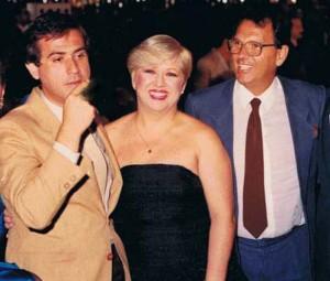 Amaury Jr, Vera Martins e José Rodolfo Câmara