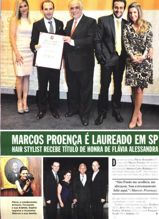 Página Revista CARAS