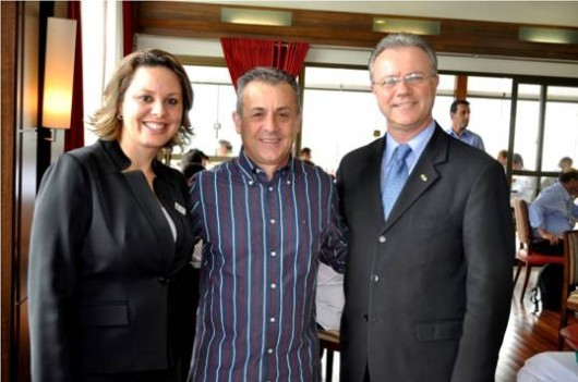Flavia Bortolazo,  Ocimar Bolicenho e  José Ozanir