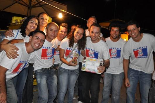 """O Grupo Folclórico """"Baque Alagoano"""" também foi homenageado"""
