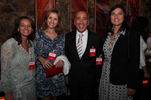 Andrea Citrini, Tatiana Mosaner, Marcelo Fernandes e Gabriela Haddad