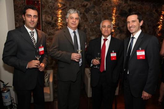 Daniel Jotta, Renato Loes, Aluizio Byrro e Thierry Guillot