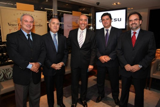 João B. Baldon, Ernesto Fernandes, Marcelo Fernandes, Eduardo Távora e Alaor Aguirre