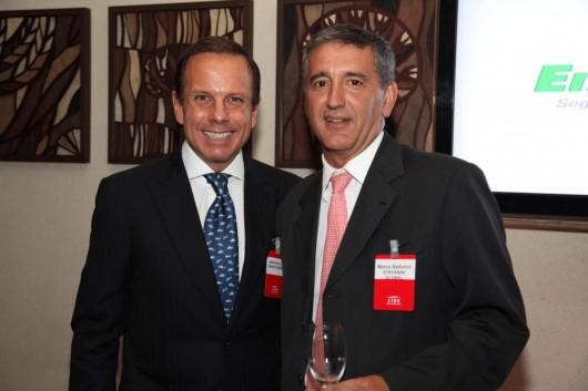 João Doria Jr. e Marco Stefanini