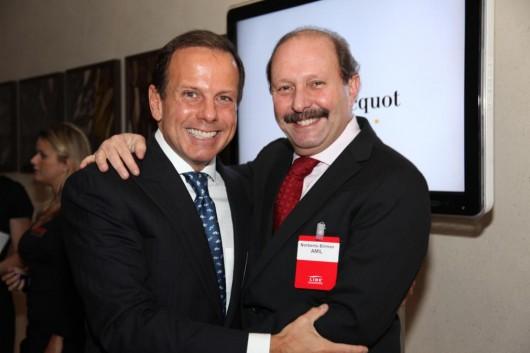 João Doria Jr. e Norberto Birman