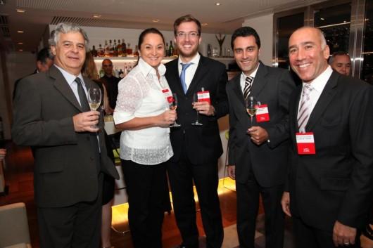 Renato Loes, Sonia Hess, Vinicius Poit, Daniel Jotta e Marcelo Fernandes