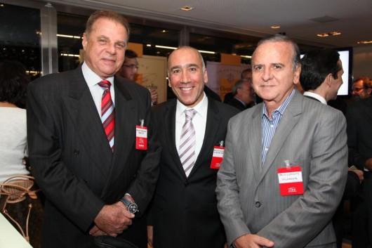Wladimir Nikolaeff, Marcelo Fernandes e Decio Clemente