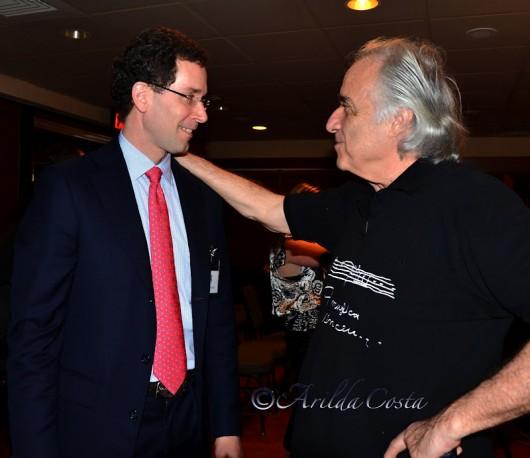 Clinton McClive e o Maestro João Carlos Martins