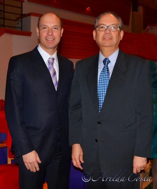 Desembargador Fausto De Sanctis e Hélio Vítor Ramos FIlho, Embaixador do Brasil na Flórida