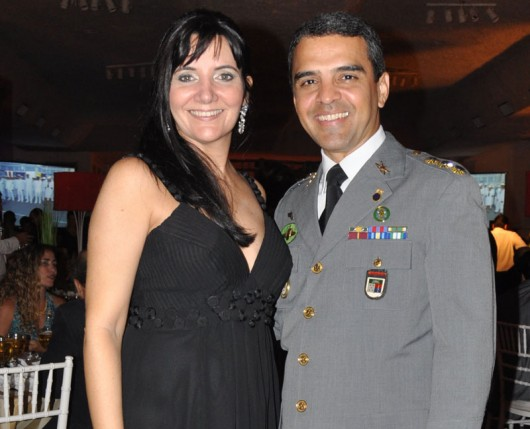Coronel Pinto Sampaio e sua senhora