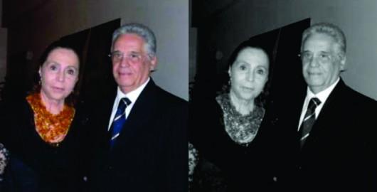 Adelina Alcântara Machado, presidente da OBME- Organização Brasileira das Mulheres Empresárias, e o ex-presidente Fernando Henrique Cardoso