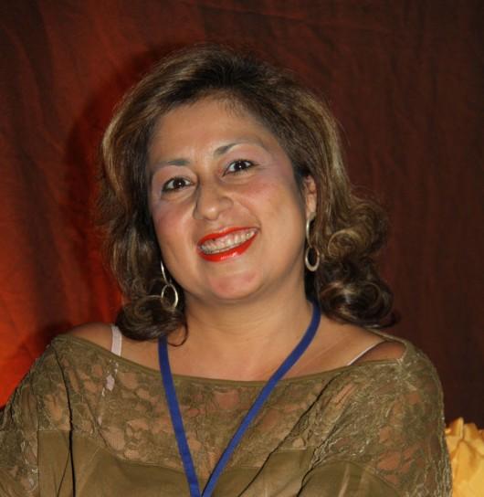 A jornalista Hosana de Lourdes