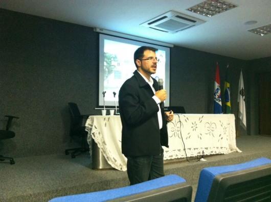 Jayme Marden, ministrou o módulo sobre inspeção das instalações internas de gás durante o Curso de Inspeção Predial