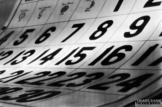 Calendário (Foto Internet - Image Bank)