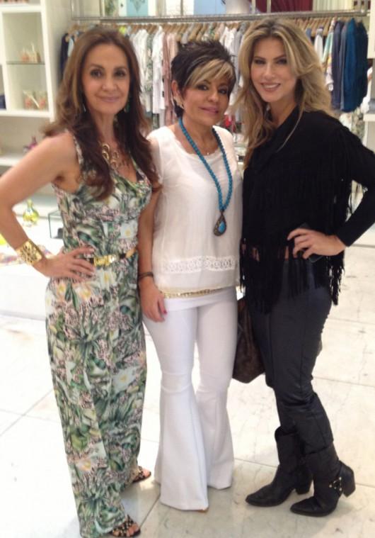 Cláudia Métne, Mônica Moscofian e Adriana Haider