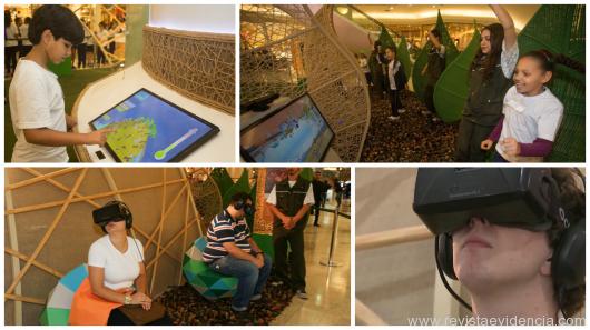 """Exposição que faz """"viagem tecnológica"""" pela natureza chega ao Parque Shopping neste sábado"""