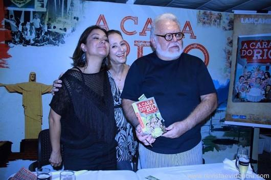 Raquel Oguri, Ana Botafogo, Ricardo Amaral.