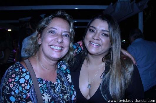 Mariza Cardozo (jornalista e escritora) e Preta Gi