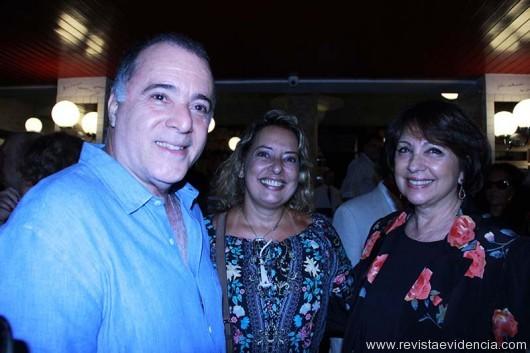 Tony Ramos, Mariza Cardozo e Lidiane.