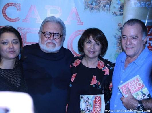 Raquel Oguri, Ricardo Amaral, Lidiane e Tony Ramos.