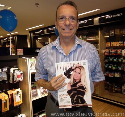 O empresário José Walter Maciel, gostou muito da revista Evidência cosmopolita