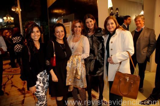 Carolina Carvalho Baptista, Ana Lucia Salama, Francesca Alzati, Tarsilinha e Selma Migliori