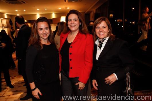 Daniela Berardinelli, Alessandra Marques e Andrea Gonzaga