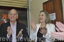 Foto 01- Darci Martins com o maridão Rafael rodrigues Martins