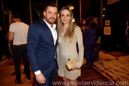 Henrique Steyer e Myrella Castilho