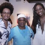 Orlando Caldeira, Representante do Movimento da Cultura Afro e Noêmia Oliveira
