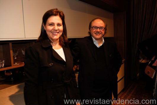 Sonia Benatti e Claudney Marques