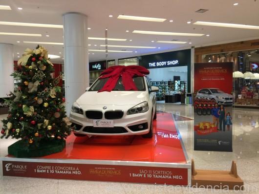Neste Natal, Parque Shopping vai fazer 11 sorteios incluindo BMW e motos no valor de R$ 250 mil
