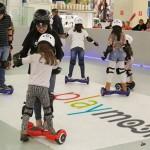 Férias Escolares - Pista de Skate Elétrico no Maceió Shopping