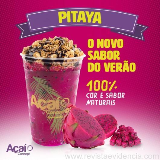Franquia inova com lançamento de produto a base da pitaya