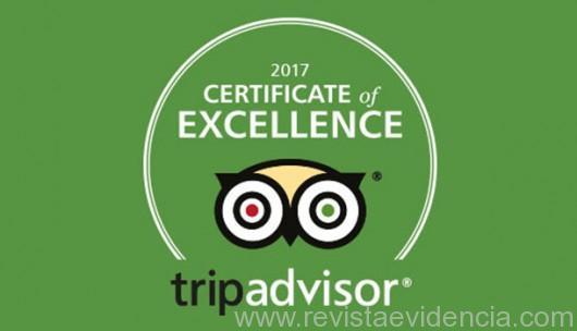 Hotéis da marca Meliá Hotels & Resorts no Brasil recebem o Certificado de Excelência 2017 TripAdvisor