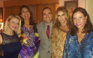 Camila Carvalho, Amiga, Helcio Hime, Nina Stevens e Narcisa Tamborindeguy