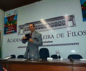 Helcio Hime na Academia Brasileira de Filosofia