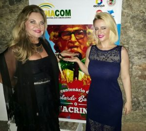 Maria Helena Prill e Camila Carvalho